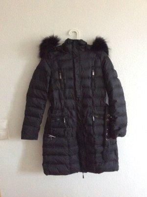 HOX Abrigo de plumón negro