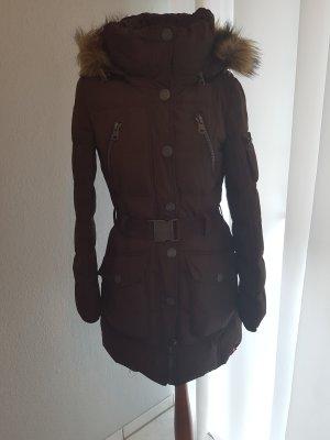 Esprit Abrigo de plumón marrón oscuro