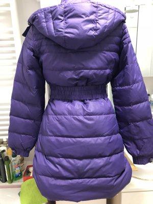 Reebok Manteau en duvet violet foncé