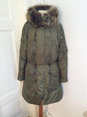 "Daunenmantel ""Snorkel Parka Coat"" Ralph Lauren Blue Label M khaki"