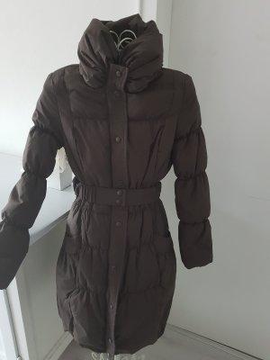 Daunenmantel Vero Moda mit Gürtel und Wärmekragen Größe 36