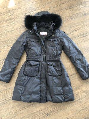 Blauer Manteau en duvet noir