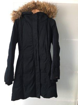 Boss Orange Abrigo de plumón negro poliamida