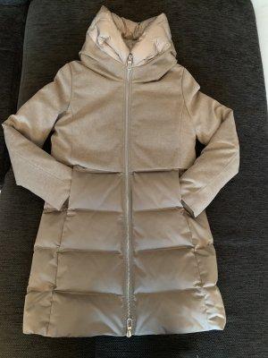 Manteau en duvet beige