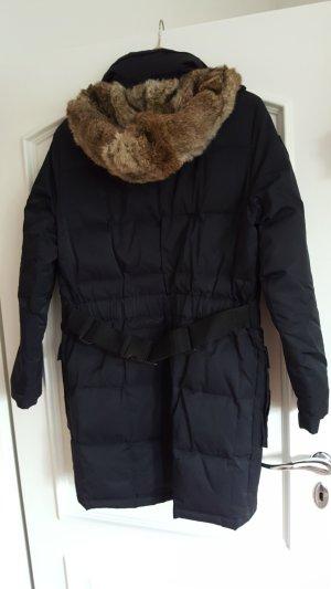 FFC Abrigo de plumón negro