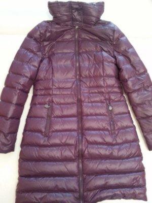 Joop! Abrigo de plumón rojo zarzamora-violeta amarronado