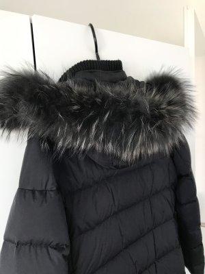 mabrun Abrigo de plumón gris oscuro