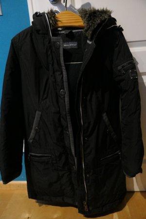 Marc O'Polo Donsjack zwart-antraciet Textielvezel