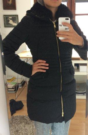 Peuterey Manteau en duvet noir-doré pelage