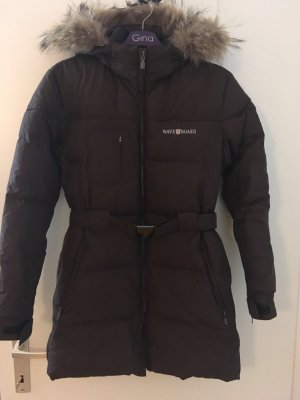 A-Z Down Jacket dark brown