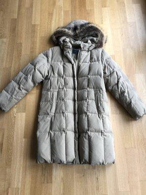Down Coat beige