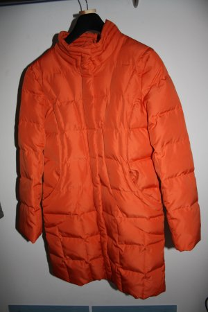 Daunenmantel / Wintermantel / Mantel / Daunen / Steppmantel / Gr. M (38) / orange