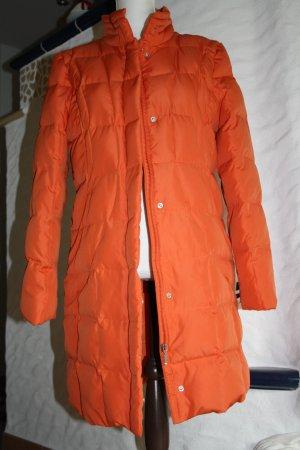 Heine Abrigo de plumón naranja tejido mezclado
