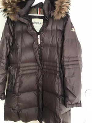 Dolomite Manteau en duvet brun foncé-brun