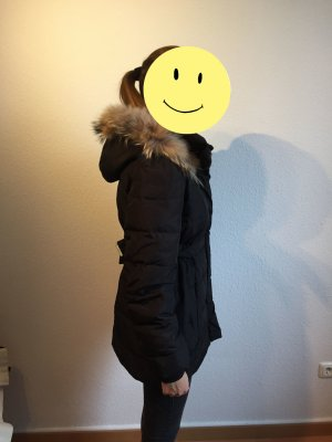 Mango Down Coat black