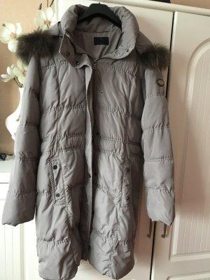 Milestone Gewatteerde jas grijs