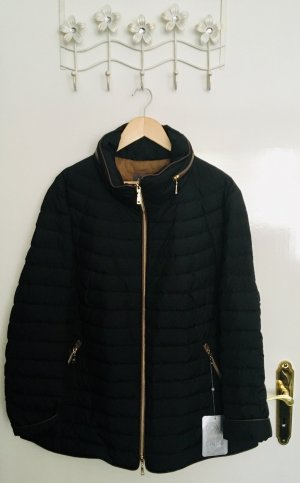 Basler Quilted Jacket dark blue-russet polyester