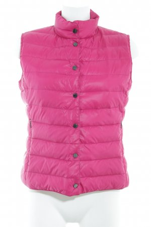 Down Vest magenta athletic style