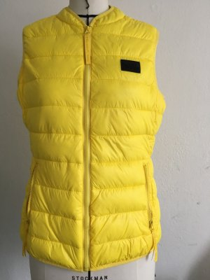 Karl Lagerfeld Down Vest yellow