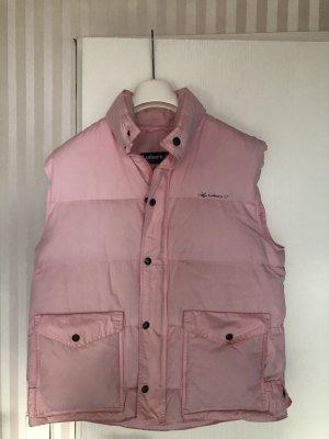 Down Vest light pink