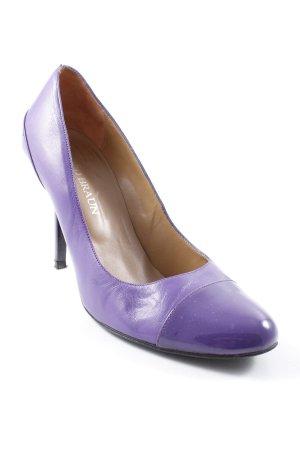 David Braun High Heels lila-flieder extravaganter Stil