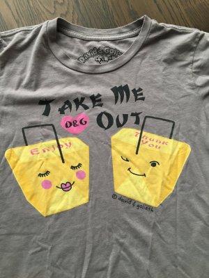 David & Goliath Shirt Take me out Gr. XL eng geschnitten Neu