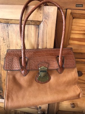 David Jones Handtasche Cognac