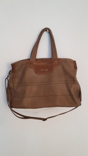 David Jones Handbag light brown-brown imitation leather