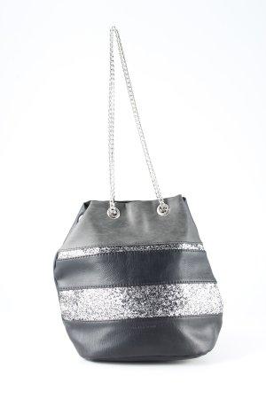 David Jones Carry Bag black-silver-colored Boho look