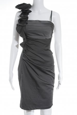 Davinia One-Shoulder-Kleid anthrazit Elegant
