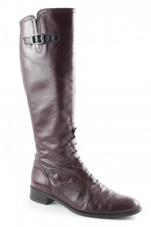 Davos Gomma Jackboots brown red-brown casual look