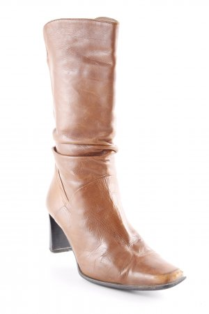 Davos Gomma Slappe laarzen bruin country stijl