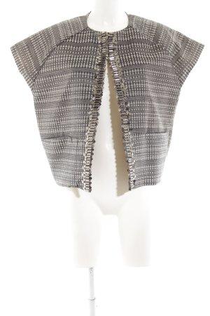 DAY Birger et Mikkelsen Blusenjacke schwarz-weiß grafisches Muster Elegant