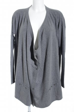 DAY Birger et Mikkelsen Cardigan grau Monogram-Muster Casual-Look