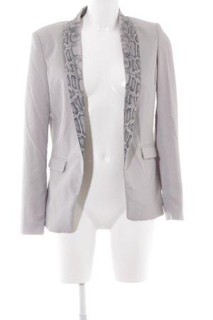 DAY Birger et Mikkelsen Jerseyblazer hellgrau-graubraun extravaganter Stil
