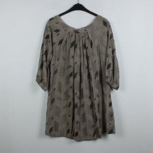 Day Birger et Mikkelsen Kleid Gr. 36 taupe oversized (18/2/598)