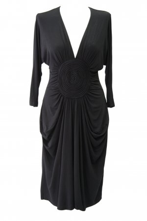 Day Birger et Mikkelsen Kleid in Schwarz