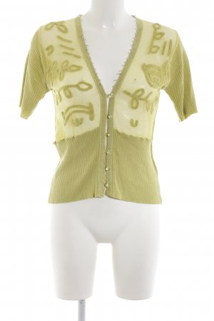 DAY Birger et Mikkelsen Short Sleeve Knitted Jacket green casual look