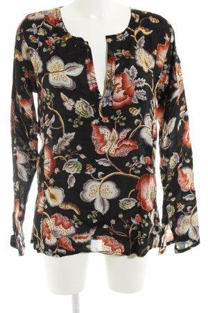 DAY Birger et Mikkelsen Langarm-Bluse florales Muster Elegant