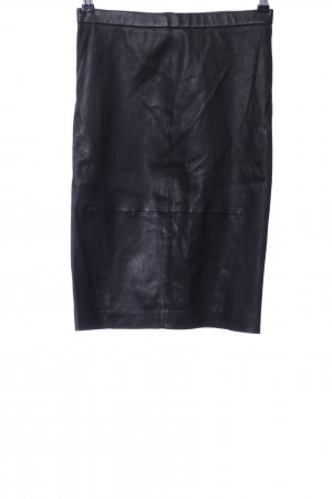 DAY Birger et Mikkelsen Leather Skirt black casual look