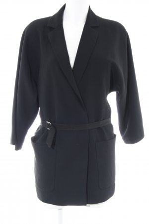 DAY Birger et Mikkelsen Long-Blazer schwarz Boyfriend-Look