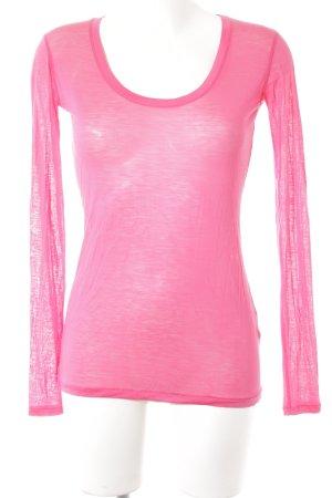 DAY Birger et Mikkelsen Longsleeve pink schlichter Stil
