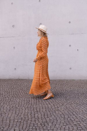Day Birger et Mikkelsen Maxikleid Orange