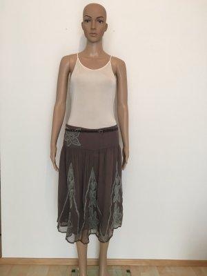 DAY Birger et Mikkelsen Midi Skirt mauve-silver-colored