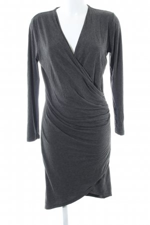 DAY Jersey Dress light grey flecked casual look