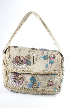 DAY Schultertasche abstraktes Muster Ethno-Look