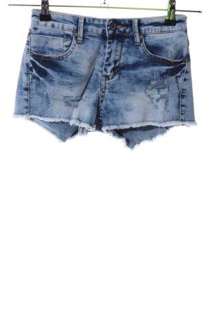Daysie Denim Shorts blue casual look