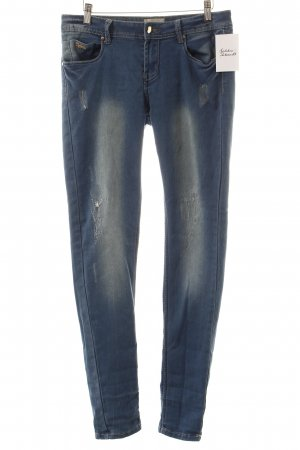 Daysie Skinny Jeans blau Used-Optik