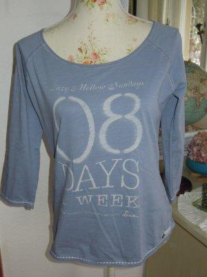 Daz 4.1.26 T-Shirt Jeansblau Gr. S NEU