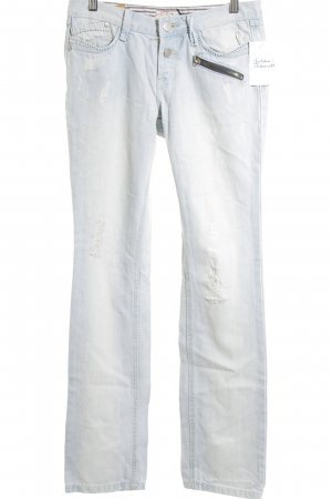 DBC Straight-Leg Jeans hellblau Street-Fashion-Look